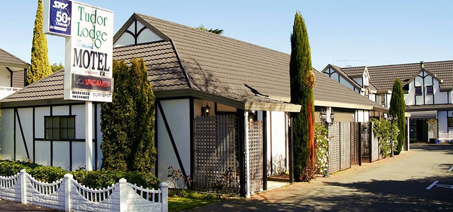 Tudor Lodge Motel, Nelson New Zealand